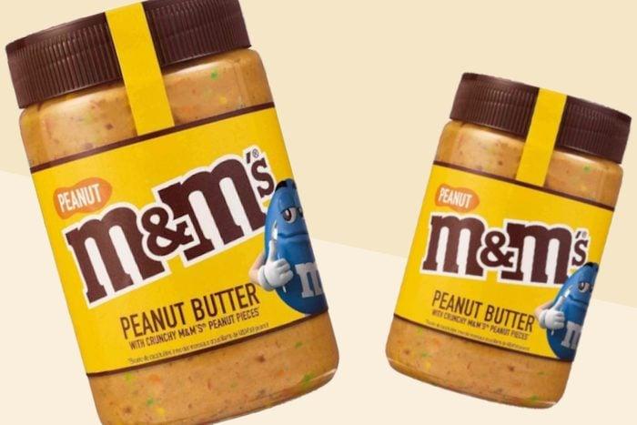 M&M's Peanut Crunchy Peanut Butter Spread UK - 225g