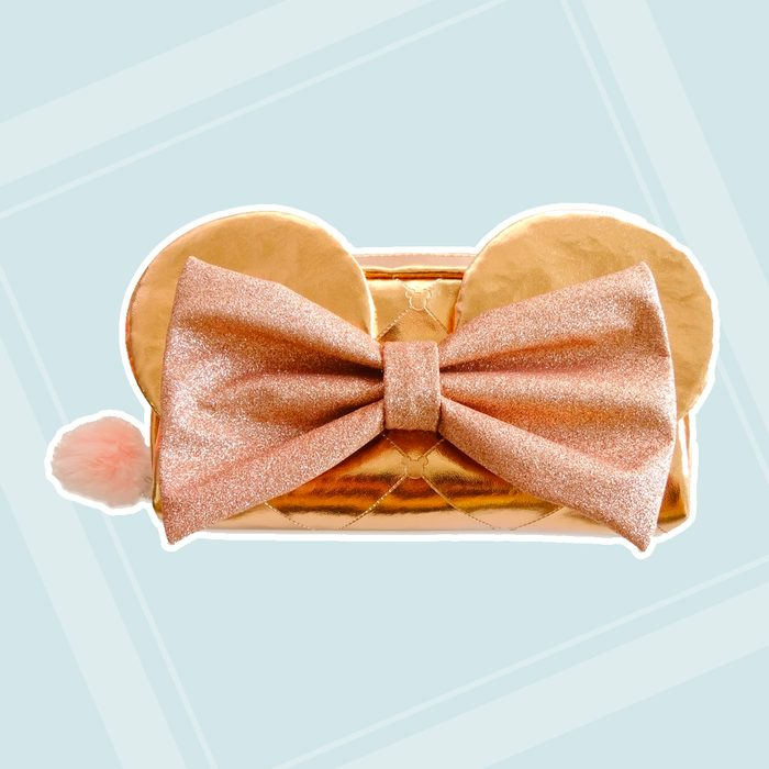 back to school gifts for kids Minnie Mouse Rose Gold Pencil Case