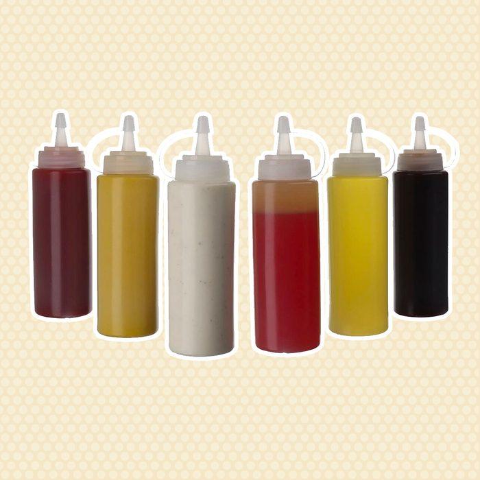 Plastic Squeeze Bottles Pancake Tools