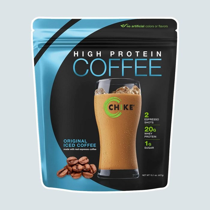 Chike Original High Protein Iced Coffee, 20 G Protein, 2 Shots Espresso, 1 G Sugar, Keto Friendly and Gluten Free, 14 Servings (15.1 Ounce)