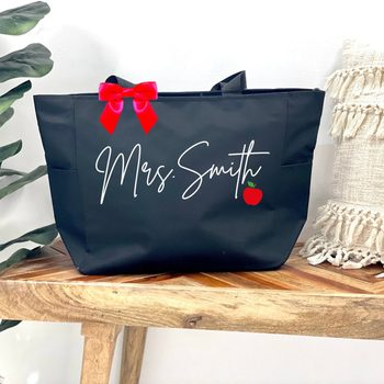 teacher gifts Teacher Tote Bags Personalized Teacher