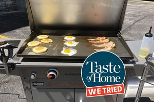 We Tried a Blackstone Griddle—Here's What We Thought