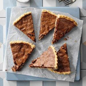 Armagnac Chocolate Almond Tart