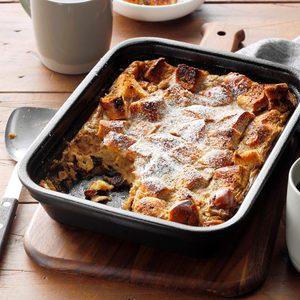 Bourbon Brioche Bread Pudding
