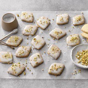 Pistachio Brown Butter Cookies