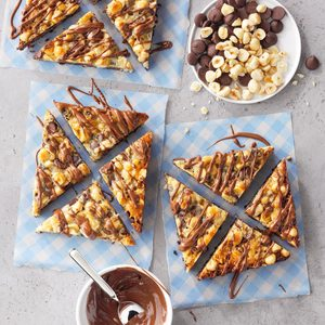 Chocolate-Hazelnut Magic Bars
