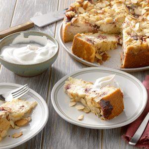 Lingonberry-Cardamom Cake