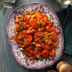 Spiced Carrots with Pistachios