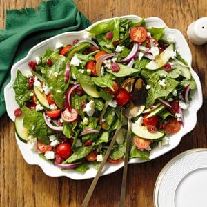 Turnip Greens Salad