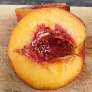 If You See White Stuff on Your Peach Pit, This Is What It Means