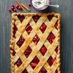 Cranberry Apple Sheet Pie