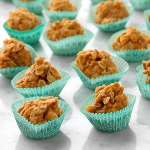 Butterscotch No-Bake Cookies