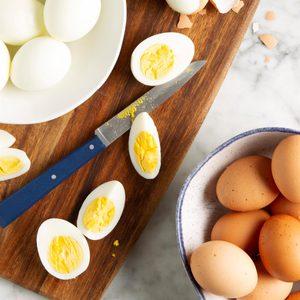 Pressure-Cooker Hard-Boiled Eggs