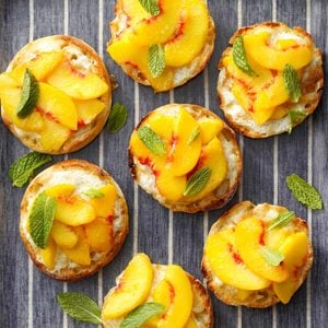 Southern Peach Toasts