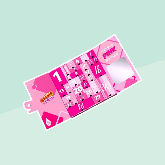 Starburst All Pink Calendar