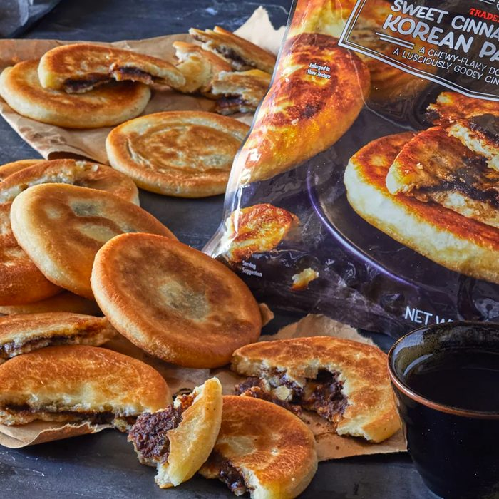 Sweet Cinnamon Filled Korean Pancakes