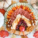 This Turkey Charcuterie Board Will Have Your Guests Gobbling Up the Snacks
