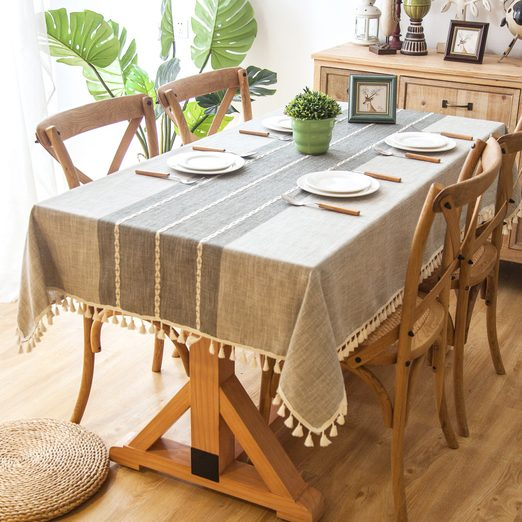 Dunbar Farmhouse Chic Tablecloth