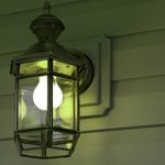 If You See a Green Porch Light, This Is What It Means