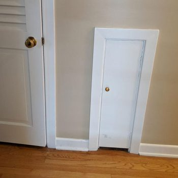 This Is What the Little Doors in Old Houses Are Really For