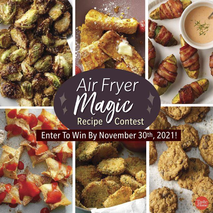Air Fryer Magic contest callout