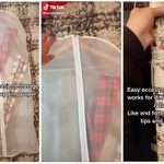 How to Store Wrapping Paper with a Garment Bag