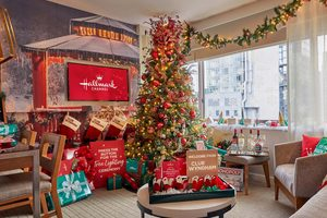 You Can Book a Hallmark-Themed Holiday Suite for Vacation This Winter—Here's How